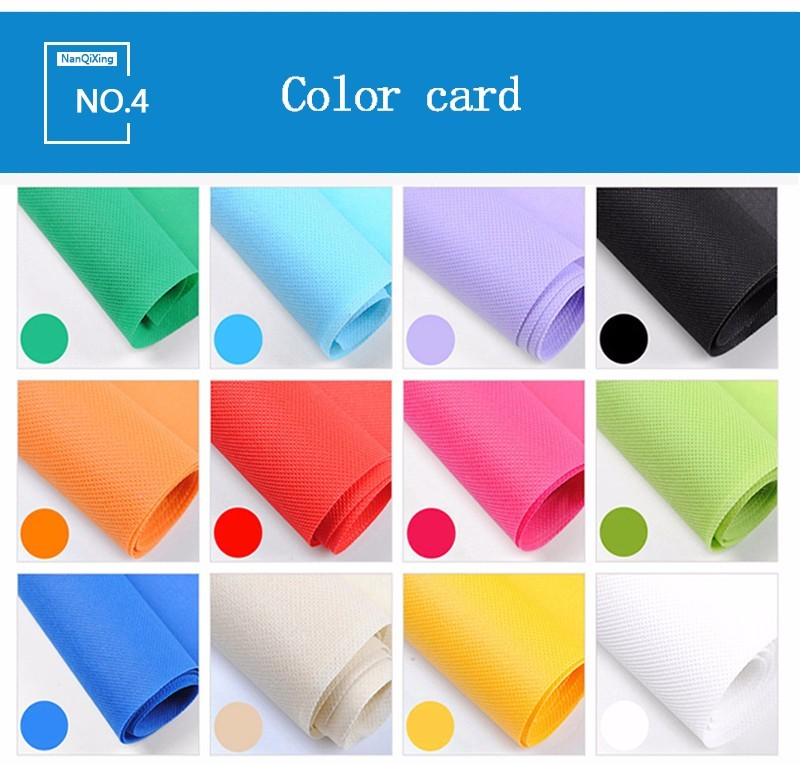 laminated non woven fabric manufacturer nonwoven rolls non woven fabric bags Nanqixing Warranty