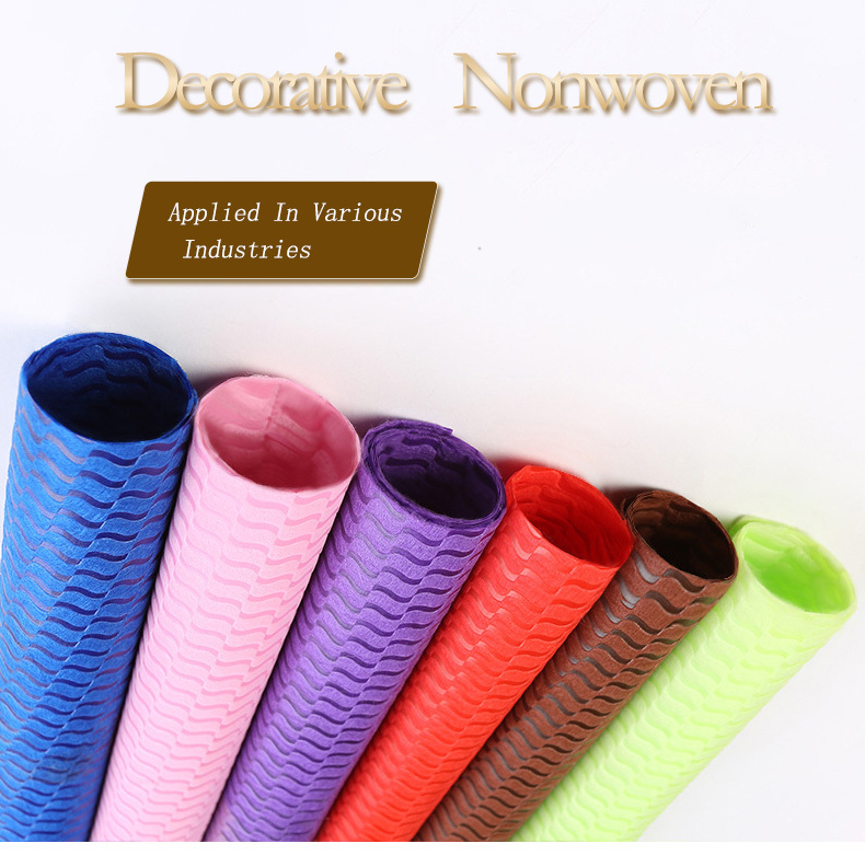 OEM Non Woven Material Suppliers soft textile Non Woven Material Wholesale
