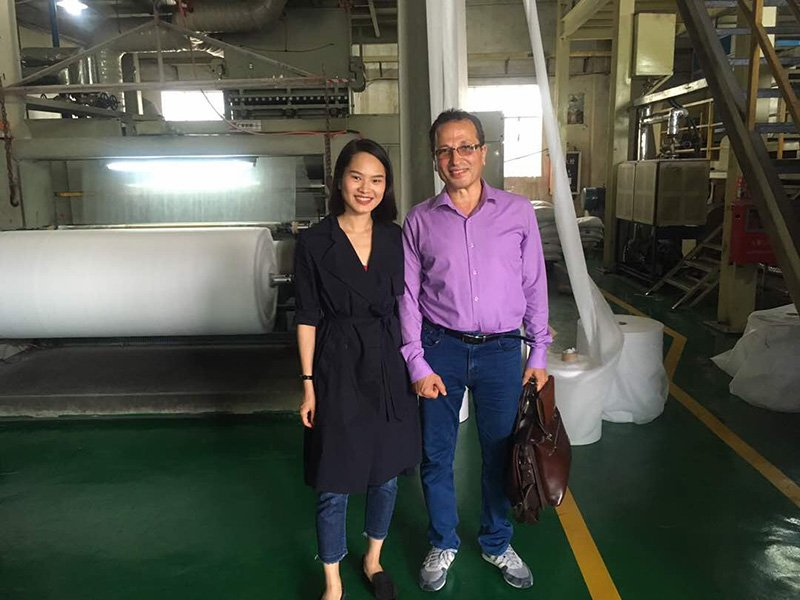 Client from Egypt visiting our factory