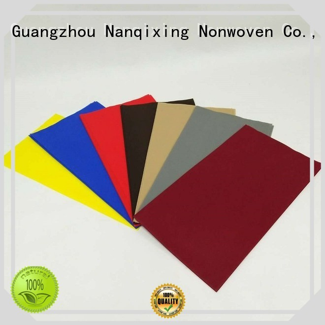 cloth table Nanqixing Brand non woven fabric for sale