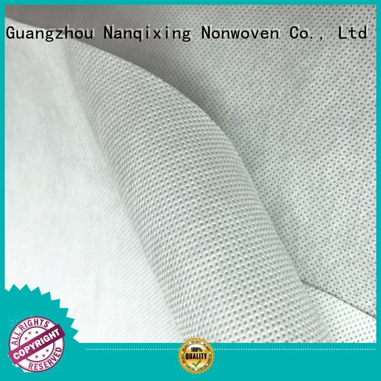 bedding upholstery furnishings tensile Nanqixing Brand pp spunbond nonwoven fabric supplier