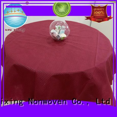 non woven fabric for sale pp tnt non woven tablecloth Nanqixing Brand