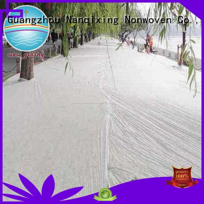 Nanqixing Brand treated cover pp best weed control fabric