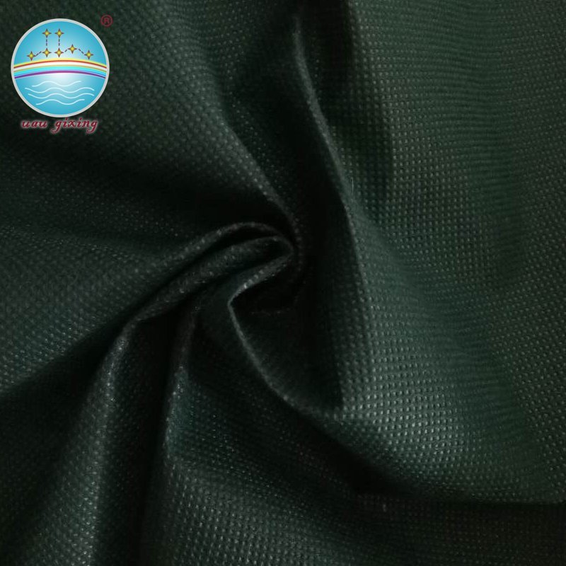 Perforated nonwoven fabric with various sizes and style