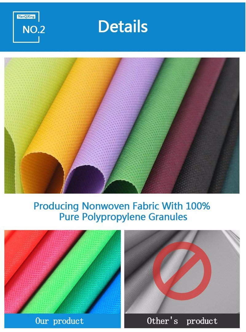 laminated non woven fabric manufacturer for Nanqixing Brand non woven fabric bags