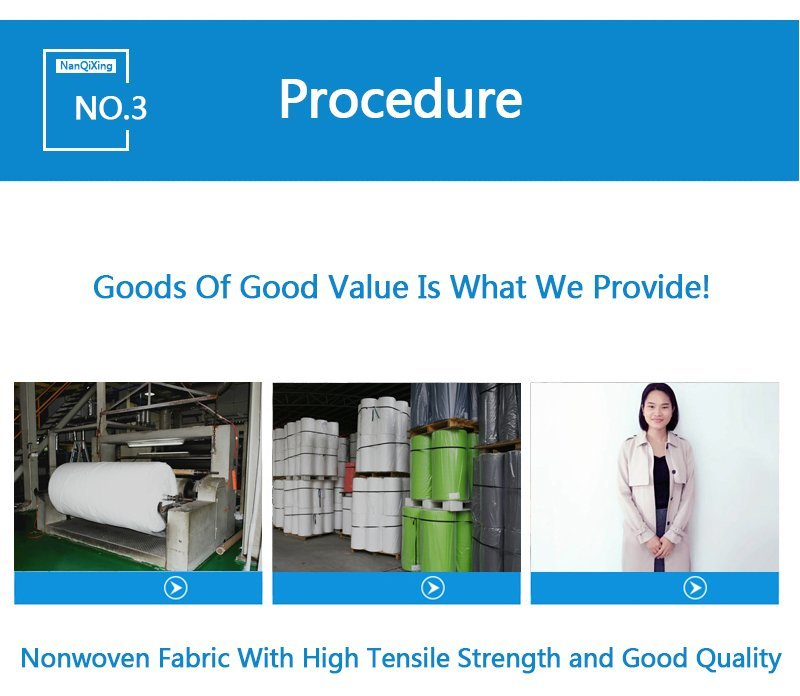 Hot laminated non woven fabric manufacturer fabrics non woven fabric bags nonwoven Nanqixing