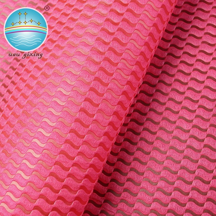 Wave Pattern Eco Friendly Pp Spunbond Nonwoven Fabric