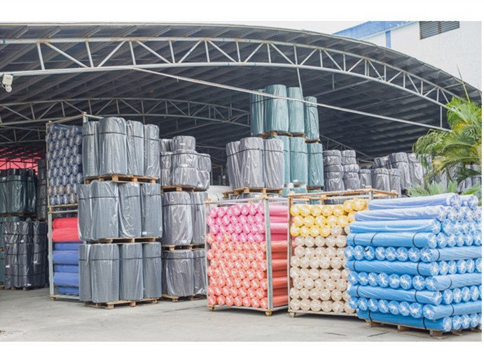 Production process of nonwoven in Nan Qi Xing