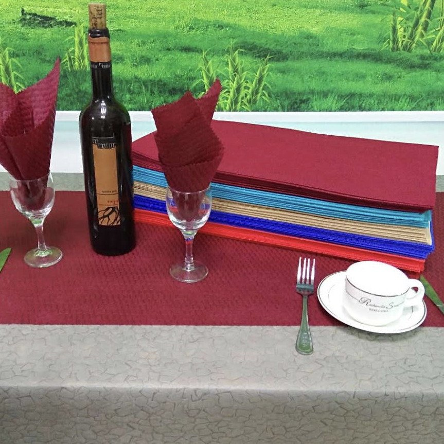 Flower Pattern TNT Disposable Eco-friendly Tablecloth