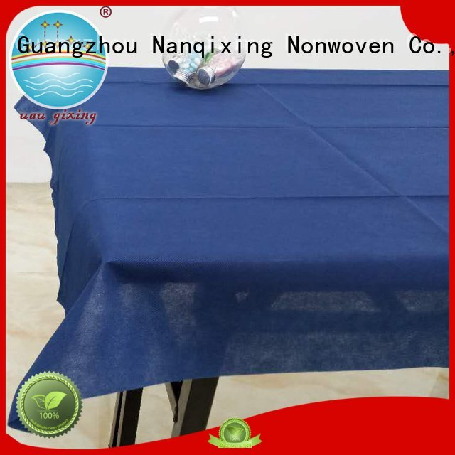 Nanqixing non woven tablecloth wedding style beautiful nonwoven