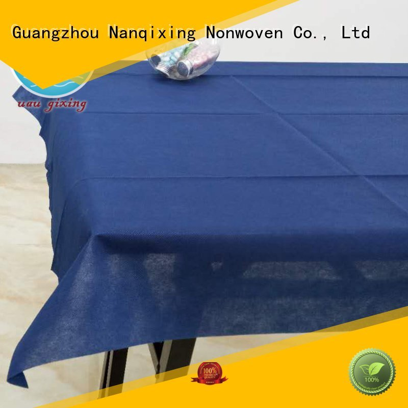 restaurants table Nanqixing non woven tablecloth