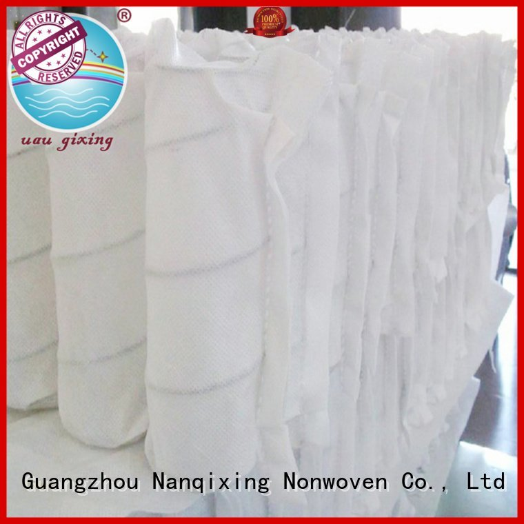 upholstery bedding tensile Nanqixing pp spunbond nonwoven fabric