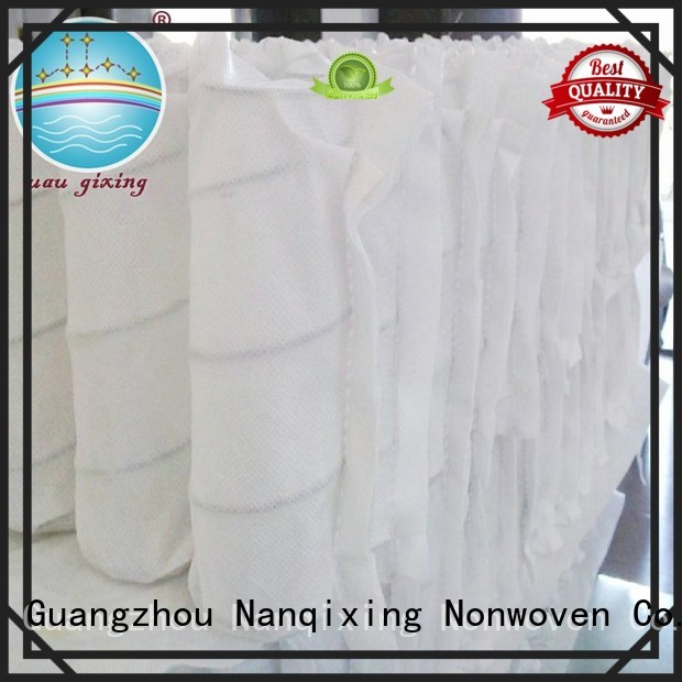 furniture furnishings pp spunbond nonwoven fabric supplier Nanqixing Brand