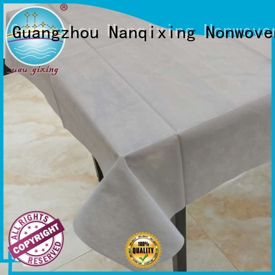 style hotels non woven fabric for sale various perforated Nanqixing Brand