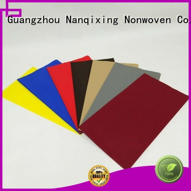 hotels different non woven fabric for sale tnt Nanqixing company