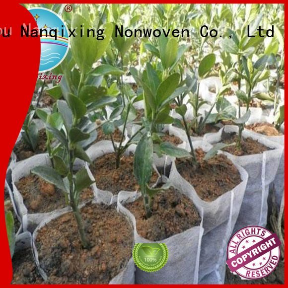 Nanqixing Brand agriculture control best price weed control fabric bags mat