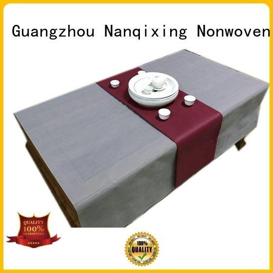 Wholesale nonwoven non woven tablecloth Nanqixing Brand