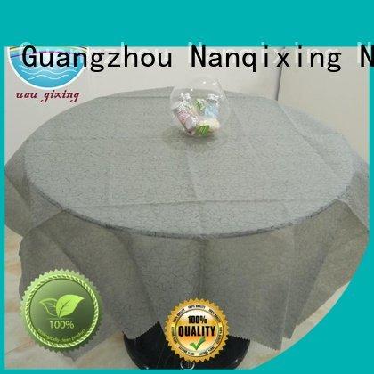 customized parties non woven tablecloth wedding Nanqixing