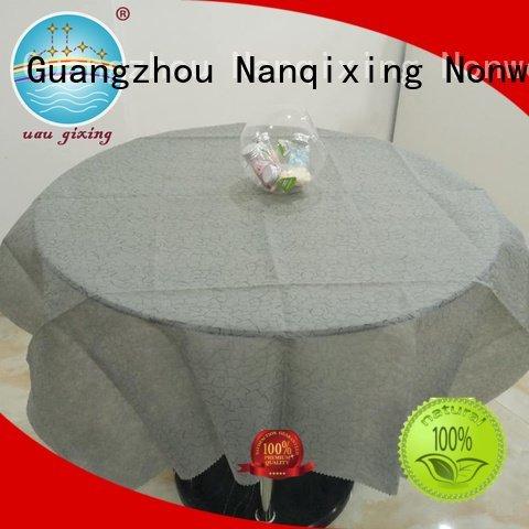 Wholesale designs fabric non woven tablecloth Nanqixing Brand