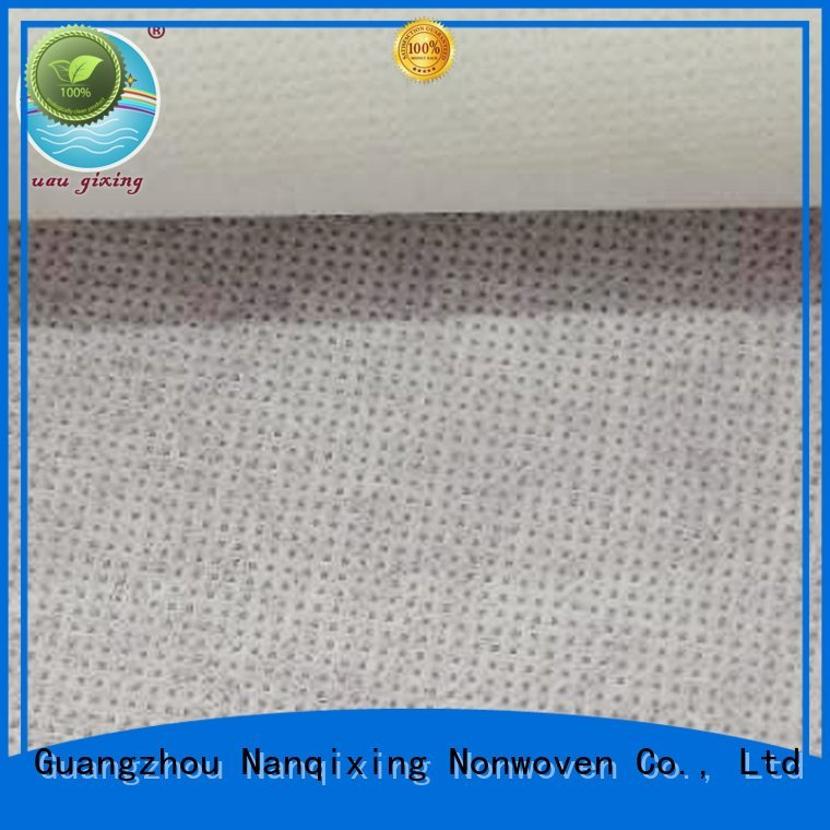 Nanqixing spunbond hygiene Non Woven Material Suppliers tensile designs
