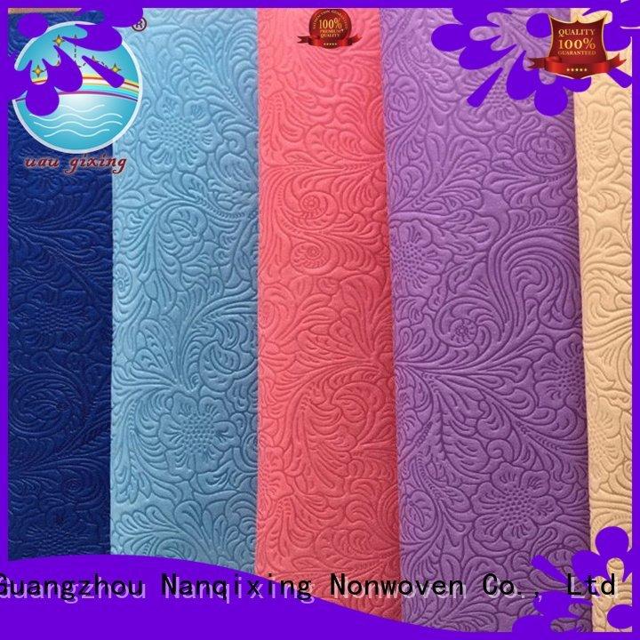 Nanqixing Non Woven Material Suppliers textile polypropylene nonwoven hygiene