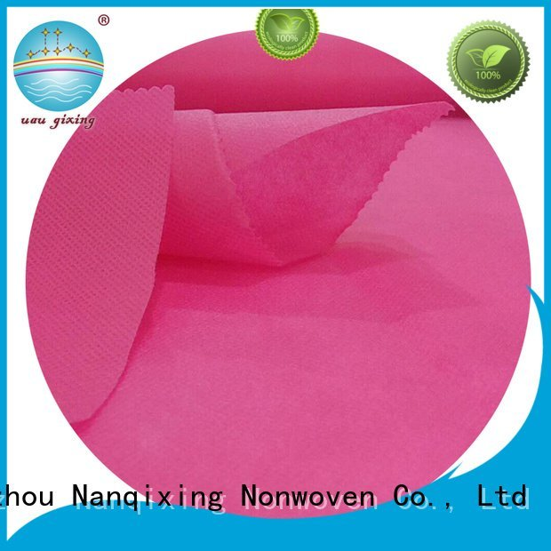 laminated non woven fabric manufacturer for adhesive Nanqixing Brand