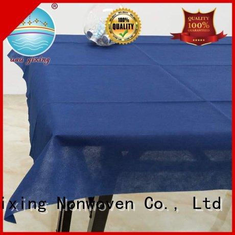 Nanqixing Brand tnt pp non woven tablecloth restaurants spunbond