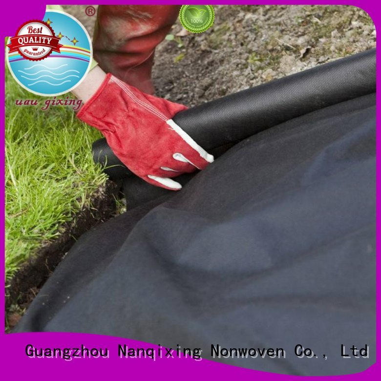 best price weed control fabric cover durable OEM best weed control fabric Nanqixing