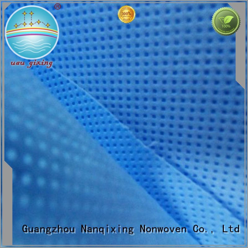 good applications usage designs Nanqixing Non Woven Material Wholesale