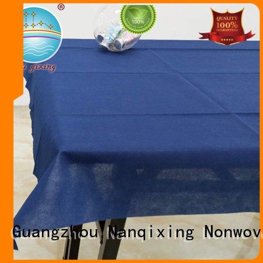 Wholesale fabric spunbond non woven tablecloth Nanqixing Brand