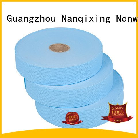 Hot laminated non woven fabric manufacturer non width with Nanqixing Brand