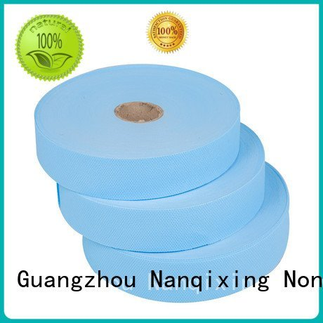 Nanqixing Brand fabric roll adhesive laminated non woven fabric manufacturer