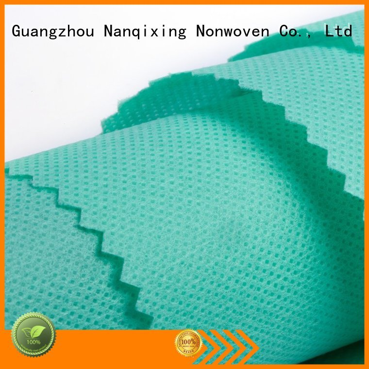 Non Woven Material Wholesale ecofriendly biodegradable nonwoven Nanqixing Brand