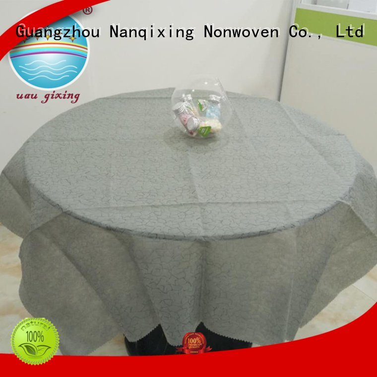 Nanqixing different patterns tnt non woven fabric for sale table