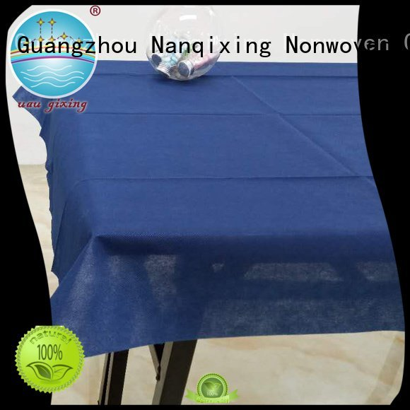 non woven fabric for sale colours non woven tablecloth Nanqixing