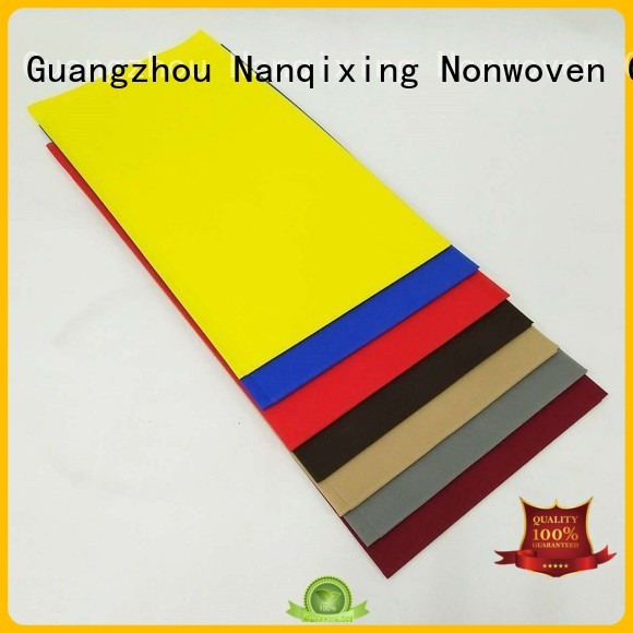 designs Custom fabric cloth non woven tablecloth Nanqixing sizes