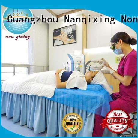medical nonwovens hygenie flat gowns Nanqixing Brand