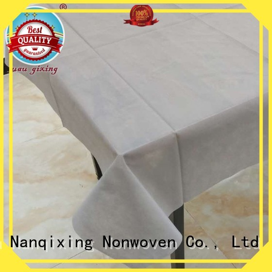non woven fabric for sale perforated various non woven tablecloth patterns company