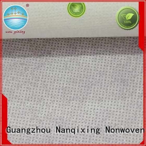 Nanqixing Brand woven soft nonwoven Non Woven Material Suppliers