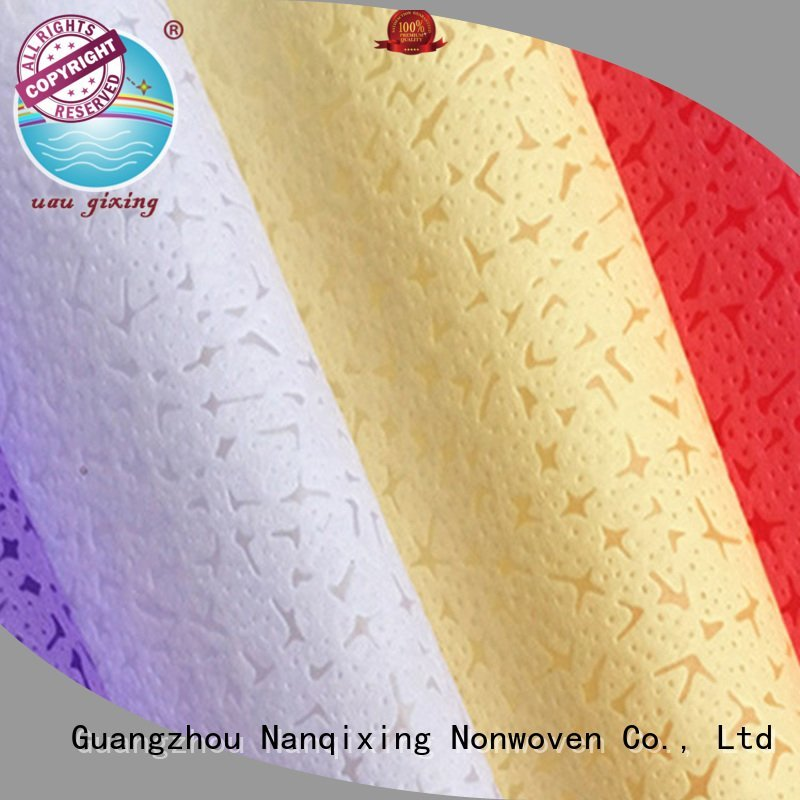 Nanqixing Brand customized hygiene Non Woven Material Suppliers 100 different