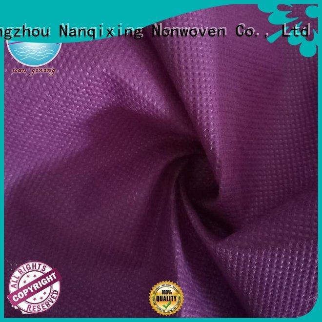 customized good high spunbond Nanqixing Non Woven Material Suppliers