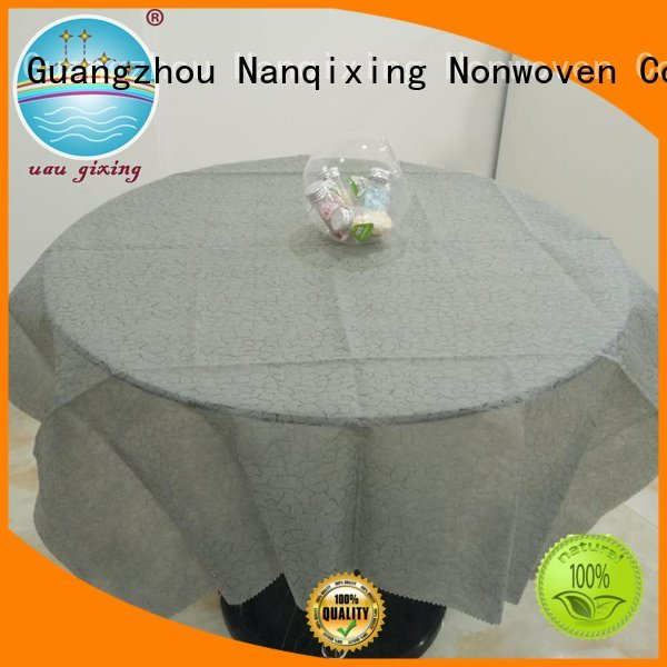 Wholesale parties style non woven tablecloth Nanqixing Brand