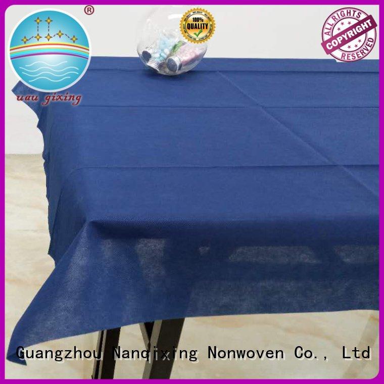 Custom wedding non woven tablecloth cloth non woven fabric for sale