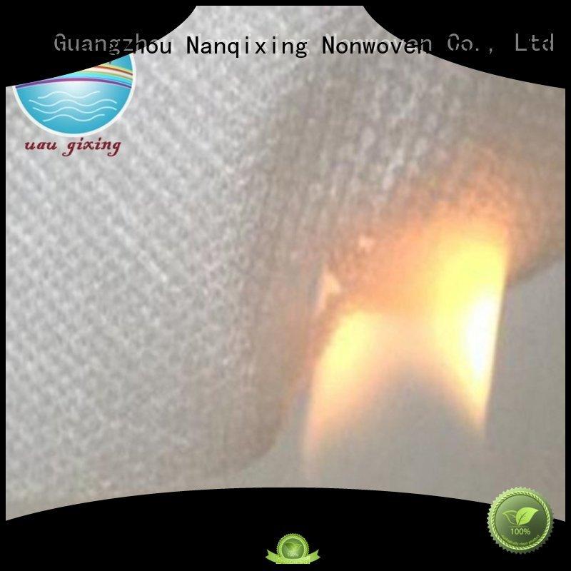 furnishings tensile pp supplier pp spunbond nonwoven fabric Nanqixing