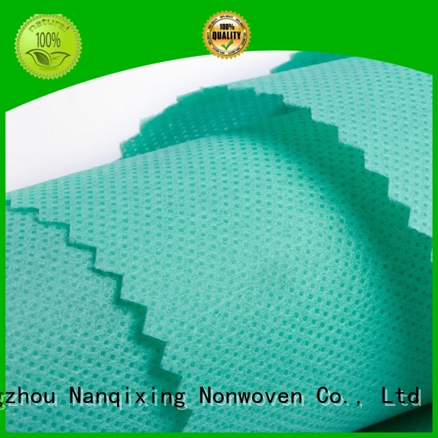 Custom nonwoven Non Woven Material Suppliers biodegradable Nanqixing