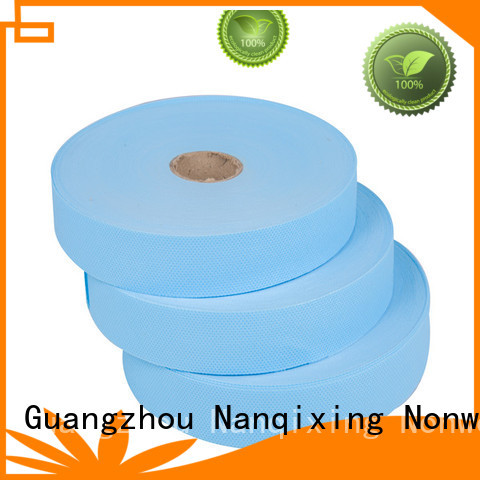 ecofriendly nonwoven quality laminated non woven fabric manufacturer Nanqixing Brand