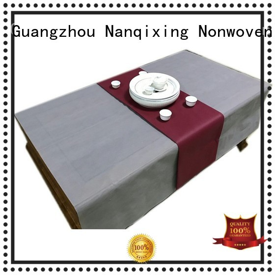 Nanqixing Brand colours hotels customized non woven fabric for sale