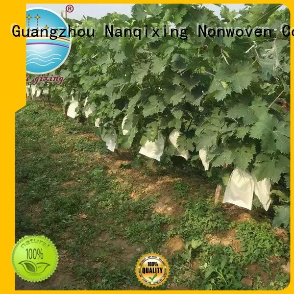 Quality Nanqixing Brand greenhouse nonwoven best weed control fabric