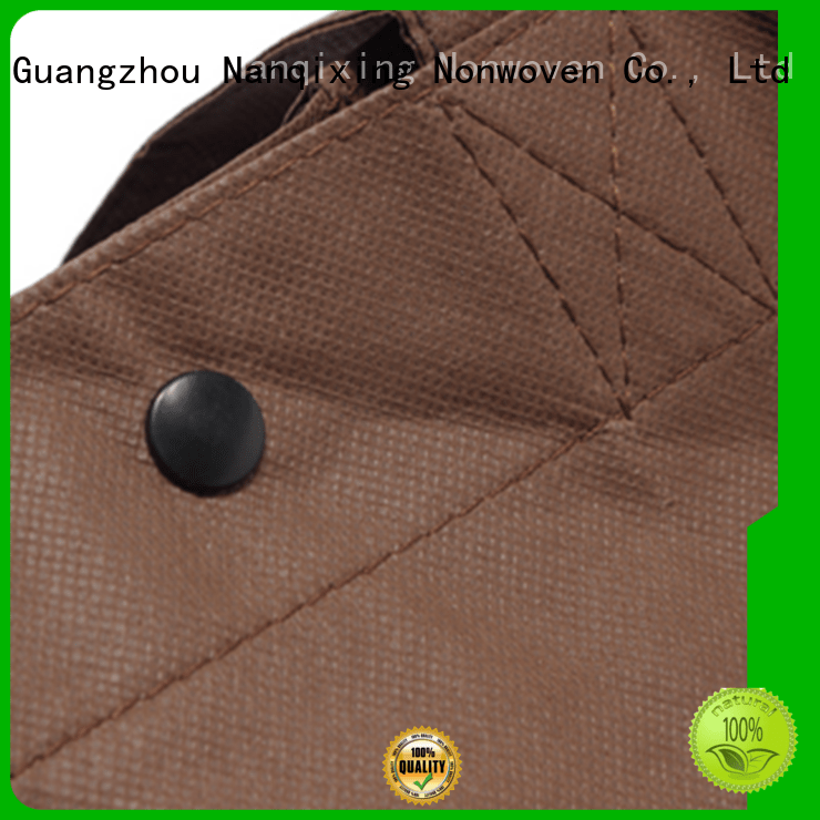 rolls fabrics with small Nanqixing non woven fabric bags
