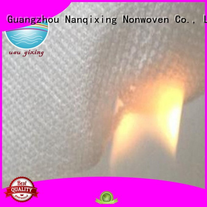 bedding upholstery Nanqixing pp spunbond nonwoven fabric